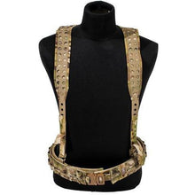 MultiCam; Grey Ghost Gear UGF 3-Point Suspenders - HCC Tactical