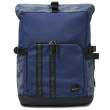 Dark Blue Reflective; Oakley Utility Rolled Up Backpack - HCC Tactical