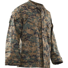 Woodland Digital; Tru-Spec VAT Print Digital Uniform Shirt - HCC Tactical