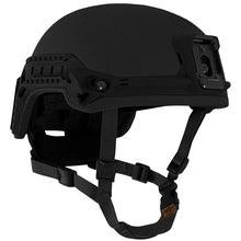 Black; Galvion Viper P4 High Cut Helmet System - HCC Tactical