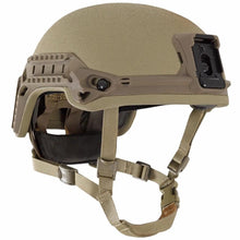 Tan; Galvion Viper P4 High Cut Helmet System - HCC Tactical