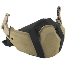 alt - Black; Galvion Visor/Mandible Guard Storage Case - HCC Tactical