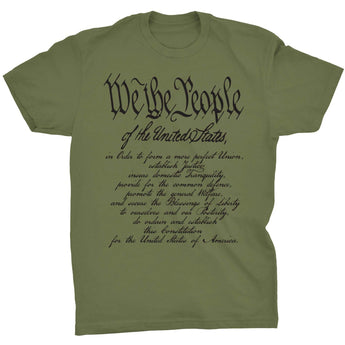 Military Green; Pipe Hitters Union We The People w/ Preamble - HCC Tactical