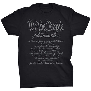 Black; Pipe Hitters Union We The People w/ Preamble - HCC Tactical