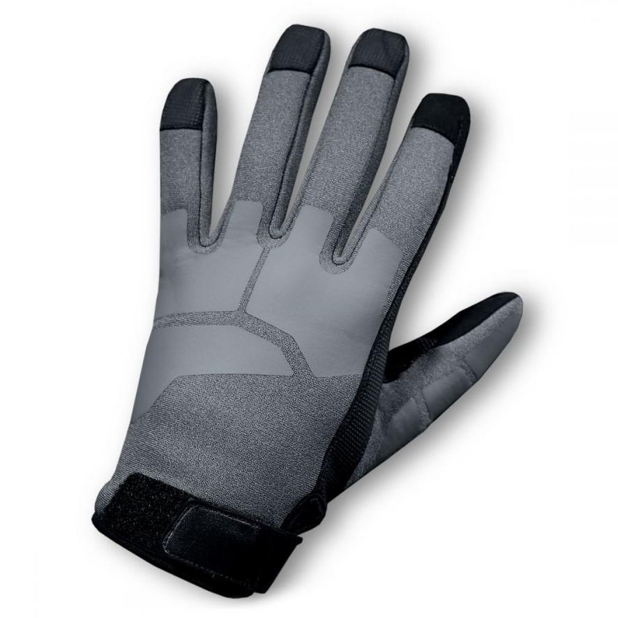 Gray; S&S Precision WetWorX Cold Weather Maritime Assault Gloves - HCC Tactical