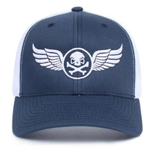 alt - Navy Blue / White; PHU Wings Trucker Hat - HCC Tactical