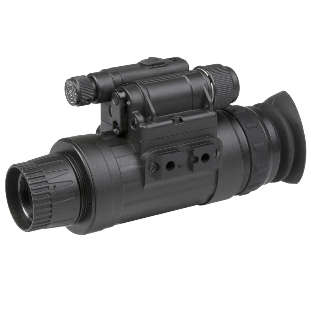 Black; AGM Global Vision AGM WOLF-14 (Gen 2+ White Phosphor) - HCC Tactical