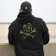 Pipe Hitters Union Woodland Camo Logo Hoodie - HCC Tactical