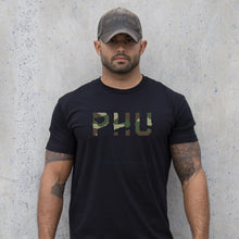 Pipe Hitters Union Woodland Camo Logo Tee - HCC Tactical