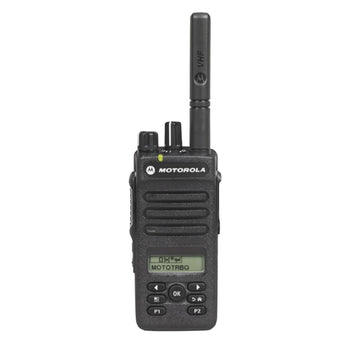 Black; Motorola XPR 3500E (VHF/UHF) Portable Radio - HCC Tactical