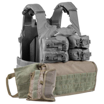 alt - MultiCam; HRT Tactical Zip-On Side Pull Medical Pouch - HCC Tactical