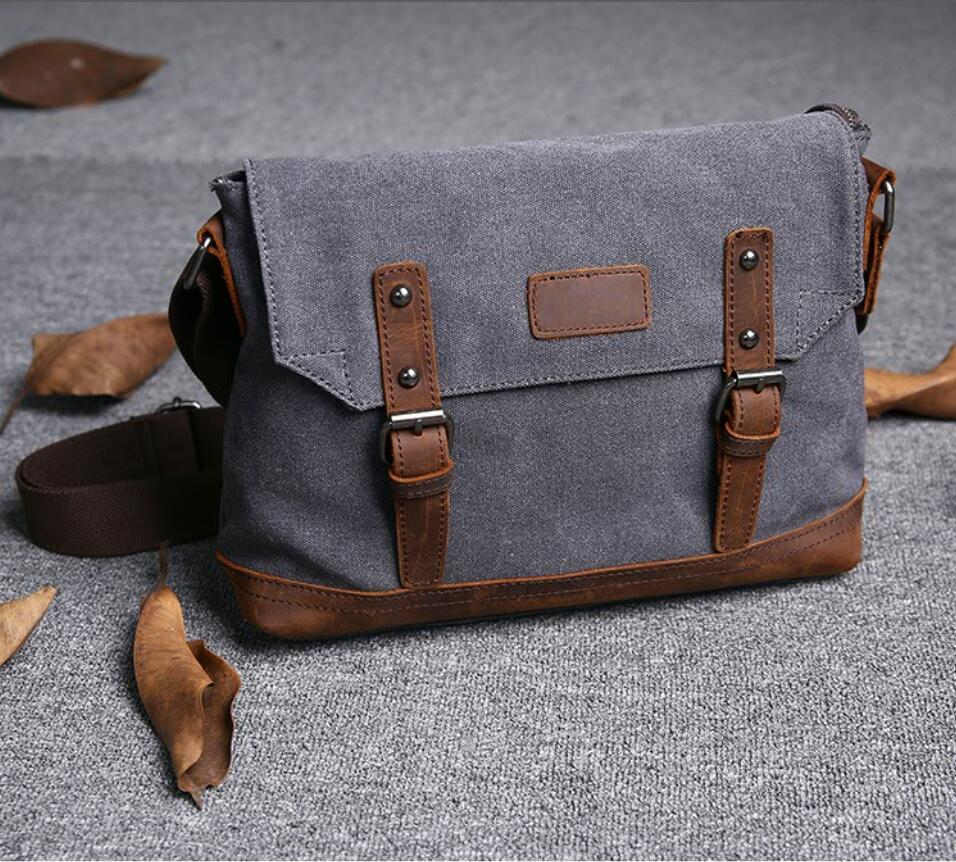 2def27d9aa New!!! Canvas Messenger Bag