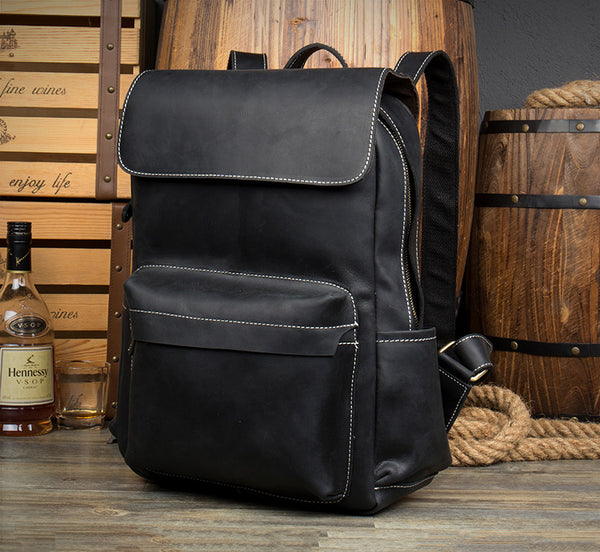 Genuine Leather Backpack, Leather Travel backpack, City Backpack, Laptop Backpack NZ11 - Leajanebag