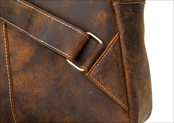 Leather Backpack, Travel Backpack, Leather School Backpack MS013 - Leajanebag