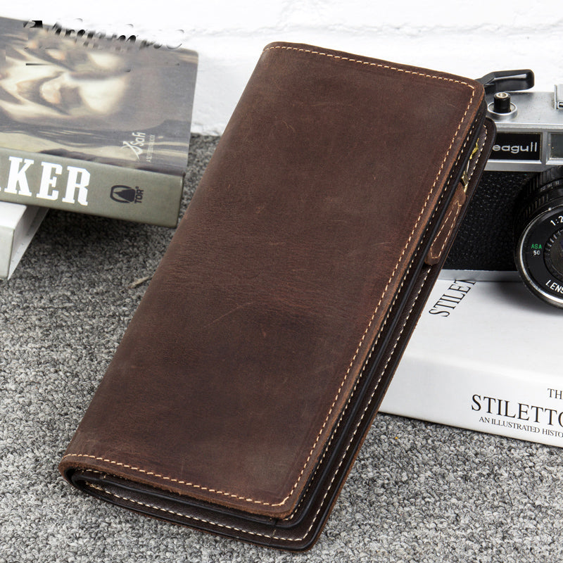 Leather Wallet, Personalized Wallet, Money Clip, Personalized Money Clip MS014 - Leajanebag