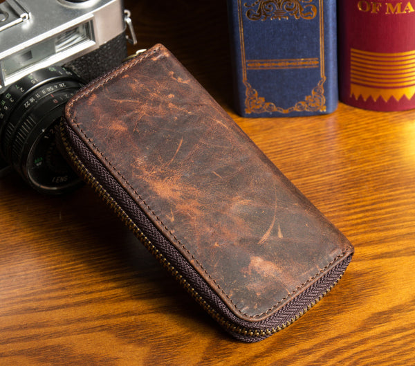 leather purse, Wallet, purse , womens wallet, women's wallet, clutch, leather wallet MS018 - Leajanebag