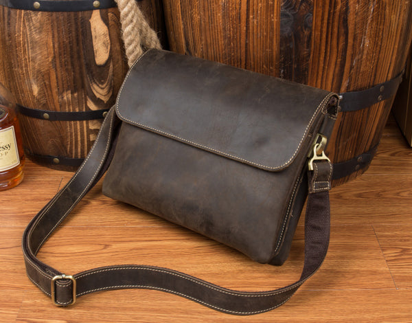 Leather Messenger bag, laptop bag,Messenger Bag, Leather Satchel, Leather Briefcase MS046 - Leajanebag