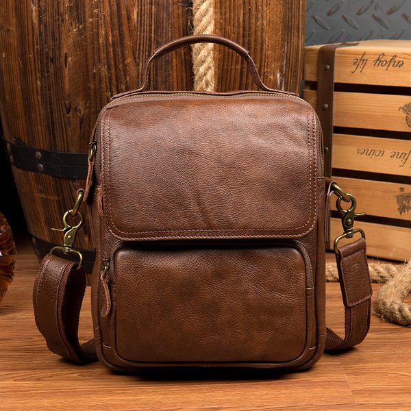 Handmade Leather Backpack, Rucksack in Vintage Brown by LeaJaneBag- MS189 - Leajanebag