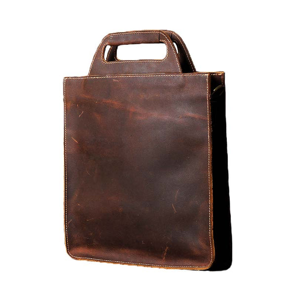 Leather tote bag, Leather bag, Shoulder bag, Brown leather bag, Gift for woman OAK-028 - Leajanebag