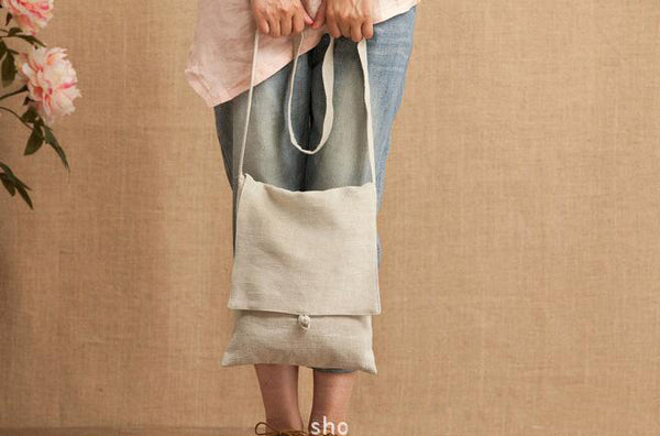 Canvas Shoulder Bag, Women Leisure Bag, Shopping Bag YY014 - Leajanebag