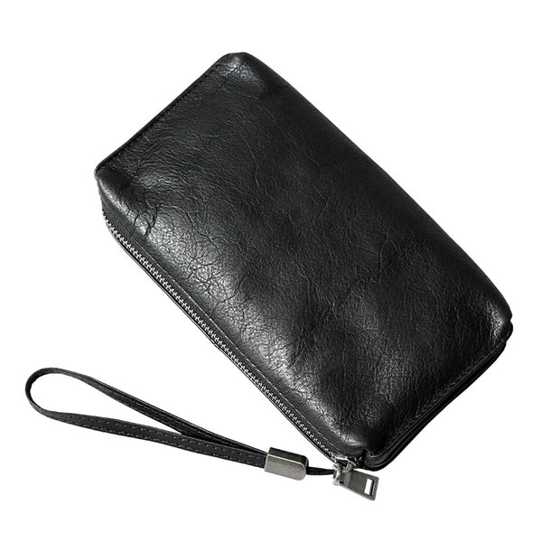 Gift, Leather Handbag, Money Case, Men's Handbag, Men's Favorite Bag, Daily Using  GLT105 - Leajanebag