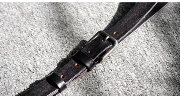 Handmade Leather Belt, Wedding Belt, Groomsman Gift, Xmas Gift,Genuine Leather Belt PS001 - Leajanebag