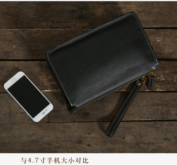 Handmade Leather Handbag, Money Case, Mens Handbag GLT037 - Leajanebag