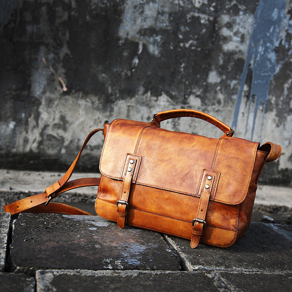 Leather Briefcase,Handmade Bag,Popular Type GLT033 - Leajanebag