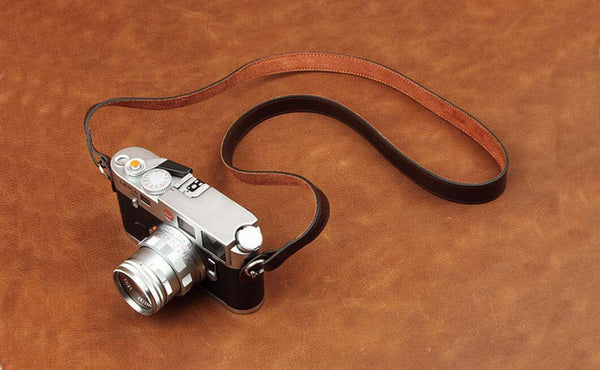 Handmade Top Grain Leather Camera Strap Camera Accessory DSLR Camera Strap CI004 - Leajanebag