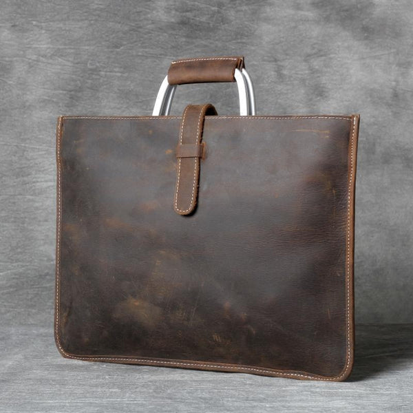 Leather Bag, Leather Briefcase, Crossbody Bag, Laptop Bag, Shoulder Bag for Mens  OAK-017 - Leajanebag