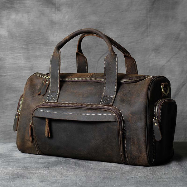 Leather Briefcase,Laptop Bag, Shoulder Bag, Duffle Bag, Mens Leather Briefcase  OAK-062 - Leajanebag