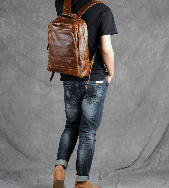 SALE 15%!!Leather backpack, Diaper backpack bag,Diaper bag backpack,Vegan Leather, GZ012 - Leajanebag