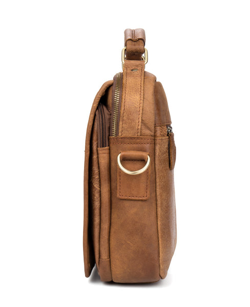 Leather Messenger Bag, Leather Business Briefcase MS155 - Leajanebag