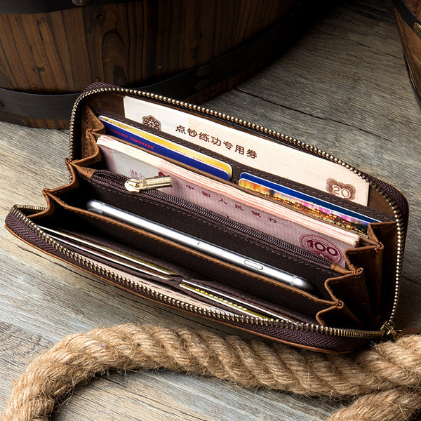 Leather wallet, Leather Purse, Women Leather Wallet, Gift for Her  MS079 - Leajanebag