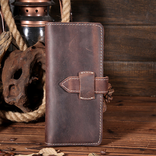 Leather Wallet, Men Wallet, Leather Holder, Phone Wallet JX004 - Leajanebag
