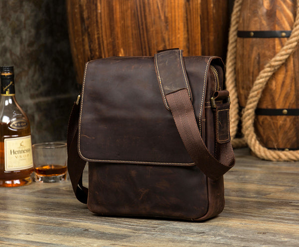 Leather Messenger Bag, Womens Satchel, Leather Cross Body Bag MS121 - Leajanebag