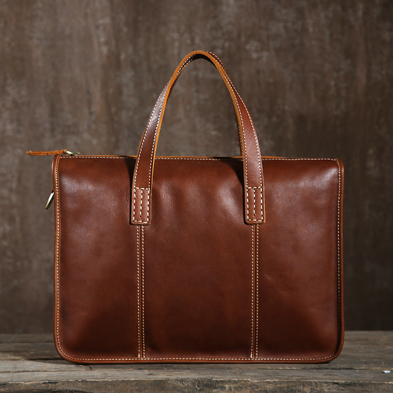 Genuine Leather Briefcase for Men, Crossbody Bag GLT016 - Leajanebag