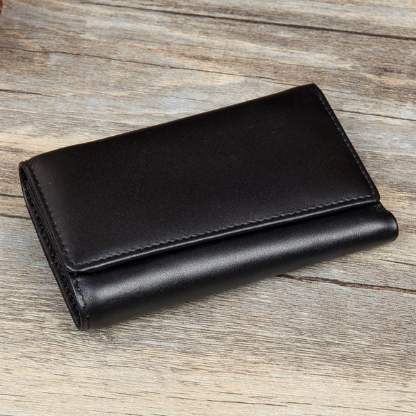 Leather Wallet, Keys Holder, Handmade Money Wallet, Long Wallet MS144 - Leajanebag