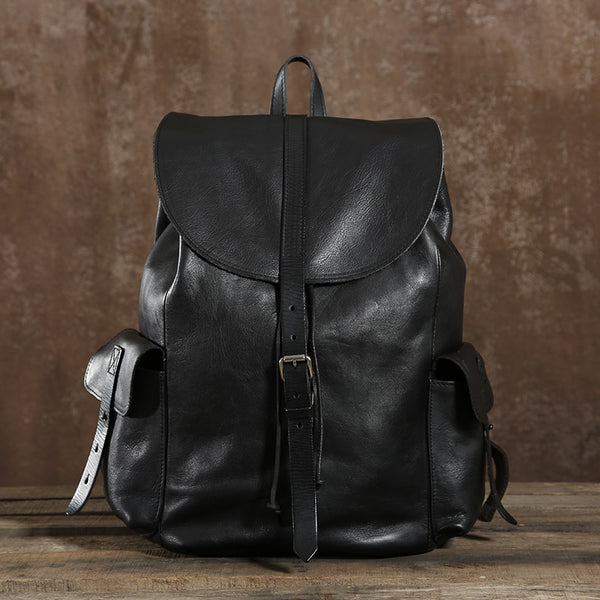 Gift, Genuine Leather Backpack, Travel Leather Backpack,School Backpack GLT106 - Leajanebag