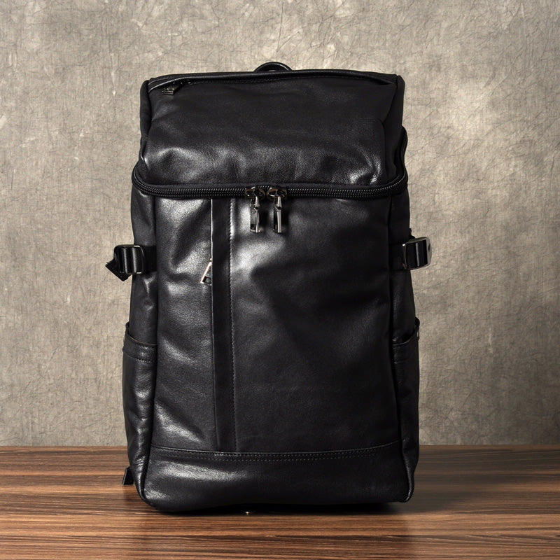 eb03ef03ca ... Mens Leather Backpack