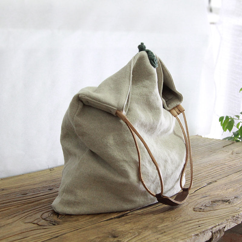 Canvas Bag, Women Tote Bag, Canvas Travel Bag YY004 - Leajanebag