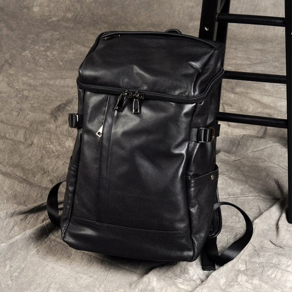 Mens Leather Backpack, Leather Rucksack, Travel Backpack, Laptop Backpack, Womens Backpack GZ035 - Leajanebag