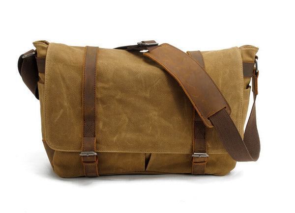 High Quality Canvas Camera Bag Cross Body Messenger Camera Bag GN-006 - Leajanebag