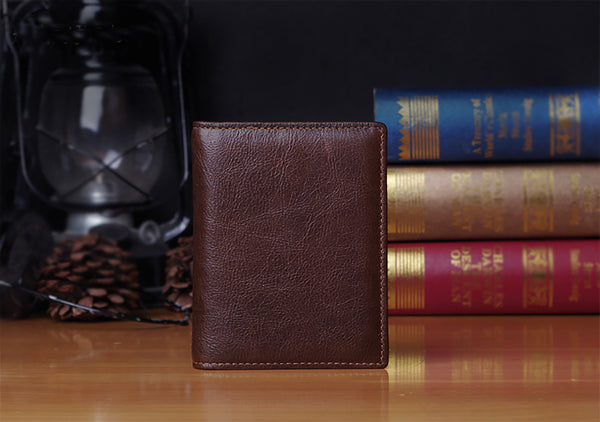 Handmade Leather Wallet, Money Case, Cards Holder, Awesome Gift JZ006 - Leajanebag