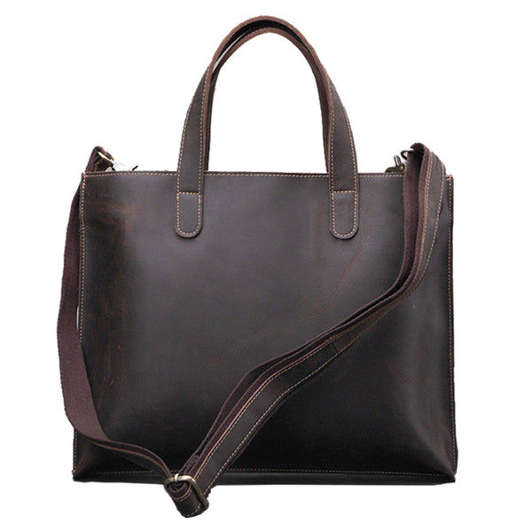Leather Tote Bag, Leather Shoulder Bag, Women Business Bag JX003 - Leajanebag