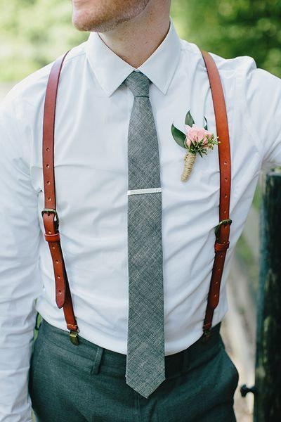 Wedding Groomsmen Leather Suspenders Party Suspenders Men's Suspenders Casual Suspenders 0194 - Leajanebag
