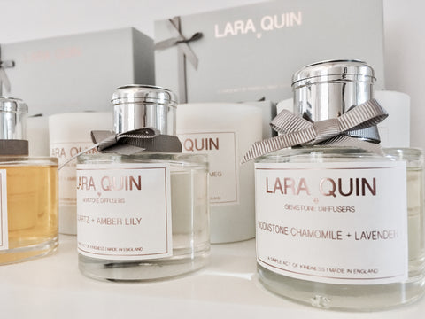 Luxury candles | Reed diffusers | by Lara Quin home scents