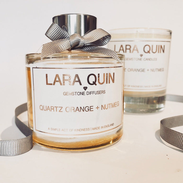 Candle gift sets | Orange | Lara Quin | 3
