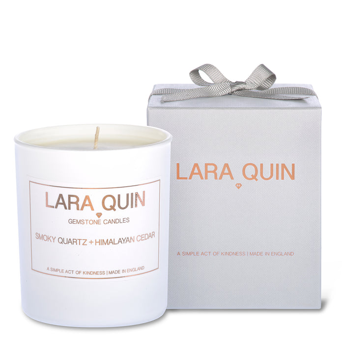 Luxury candles | Cedar | Lara Quin | 1