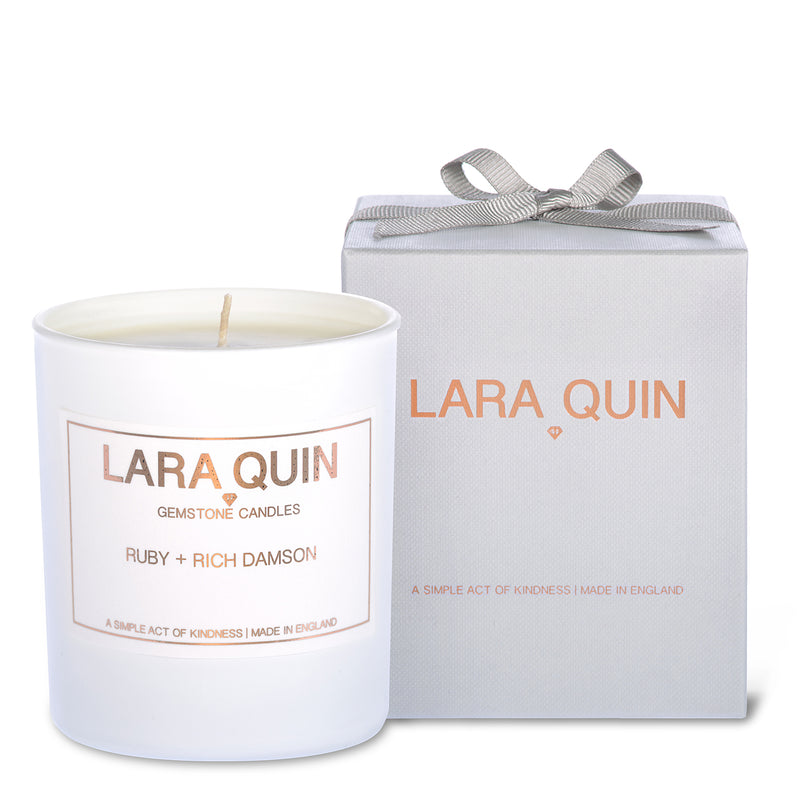 Luxury candles | Damson | Lara Quin | 1